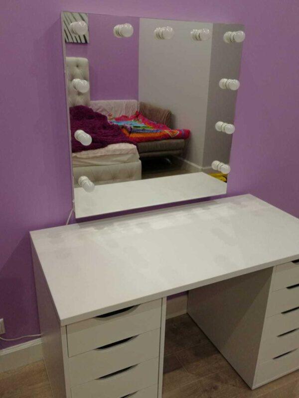 IBIZA гриммерный столик и гримерное зеркало