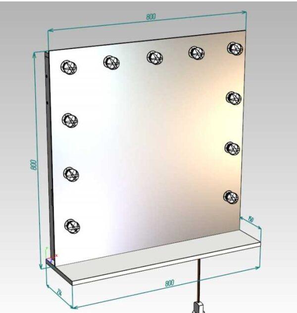 Зеркало GZCP001 схема