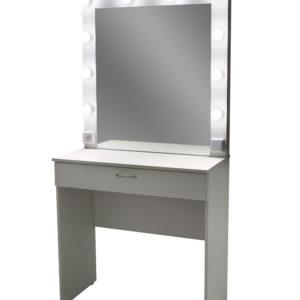 гримерный стол GSCP01 белый закр ящ вкл лампы
