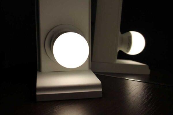 E27 LED лампочка для зеркала с подсветкой