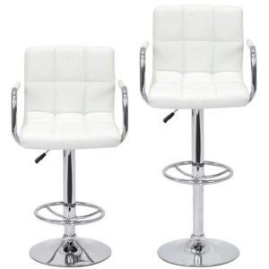 Барный стул ФРОСТ для визажиста разная высота