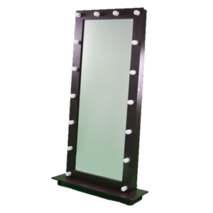 Гримерное зеркало GZCP006 ростовое на колесах с подсветкой