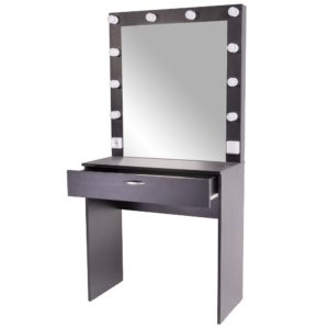 Ferran гримерный столик с зеркалом черный москва