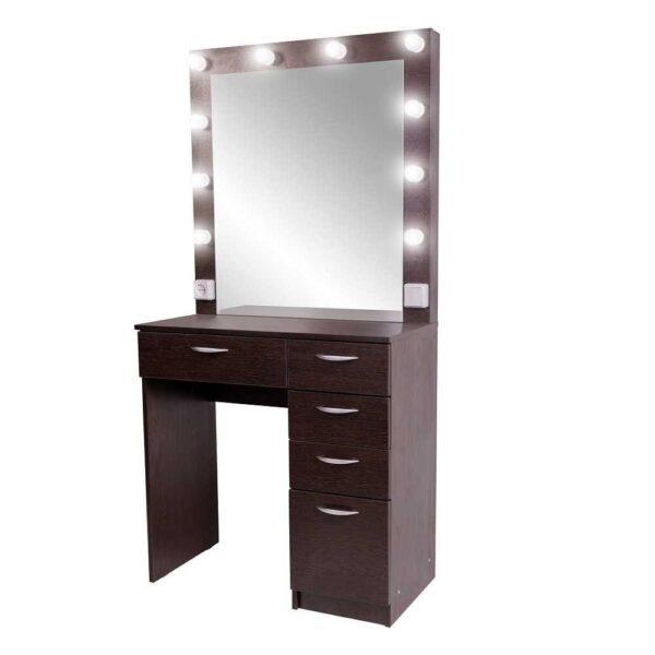 Гримерный стол MONTE-CARLO цвета венге