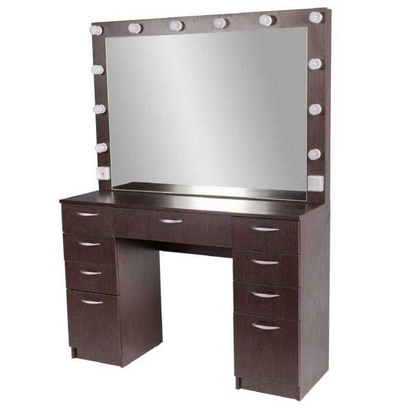 Мадрид гримерный столу с 9 ящиками на makeupmirror 2