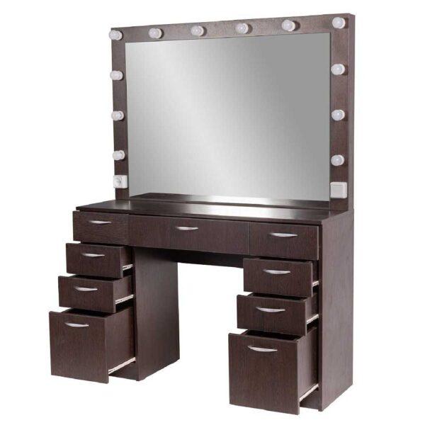Мадрид гримерный столу с 9 ящиками на makeupmirror