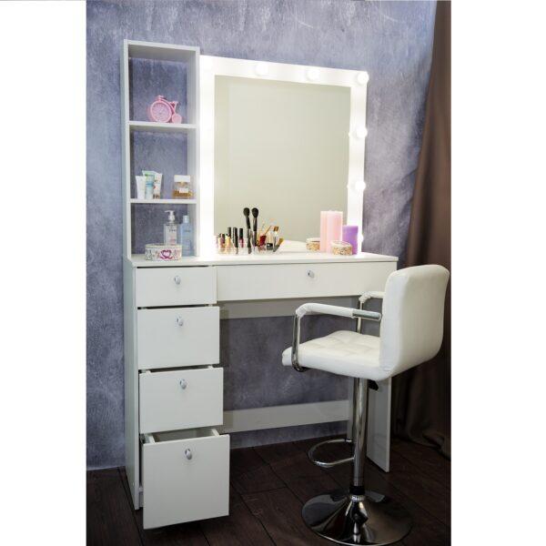 Гримерный стол Москва от MakeupMirror.ru для профессионалов