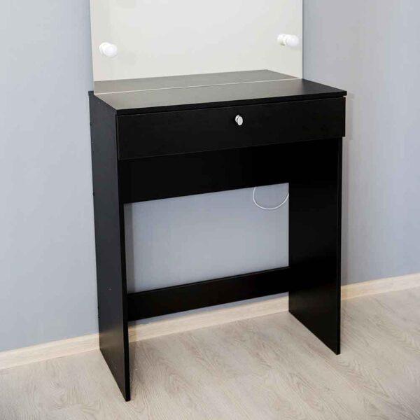 Гримерный-стол-Venezia-черный-приближение-ящик