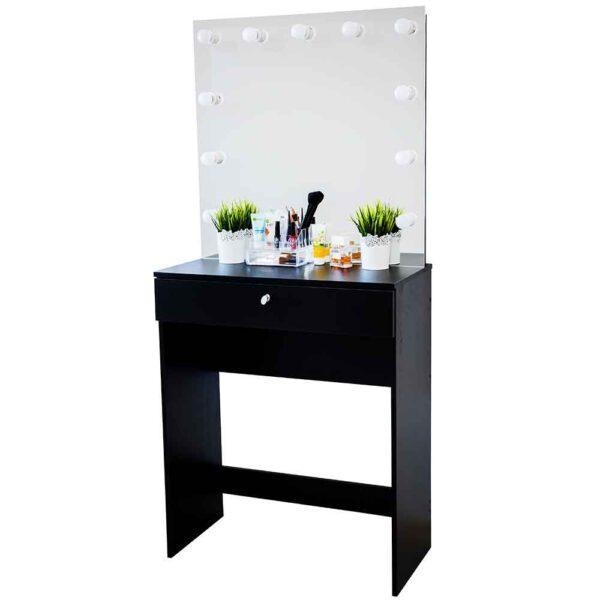 Гримерный-стол-Venezia-черный-с-зеркалом