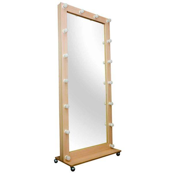 РОстовое-гримерное-зеркало-цвета-молочный-дуб-180х80-без-освещения Julia