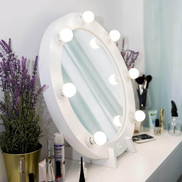 Гримерное зеркало круглое с подсветкой ТОНДО_0000_L59A7715