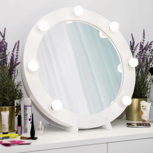 Гримерное зеркало круглое с подсветкой ТОНДО_0002_L59A7713