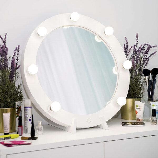 Гримерное зеркало круглое с подсветкой ТОНДО_0003_L59A7712