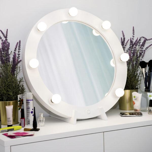 Гримерное зеркало круглое с подсветкой ТОНДО_0004_L59A7711