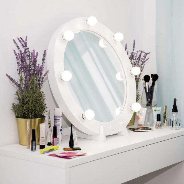Гримерное зеркало круглое с подсветкой ТОНДО_0005_L59A7708