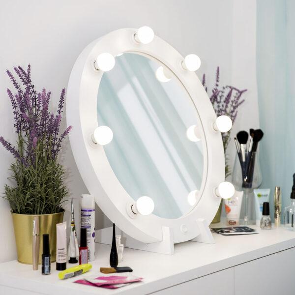 Гримерное зеркало круглое с подсветкой ТОНДО_0006_L59A7707