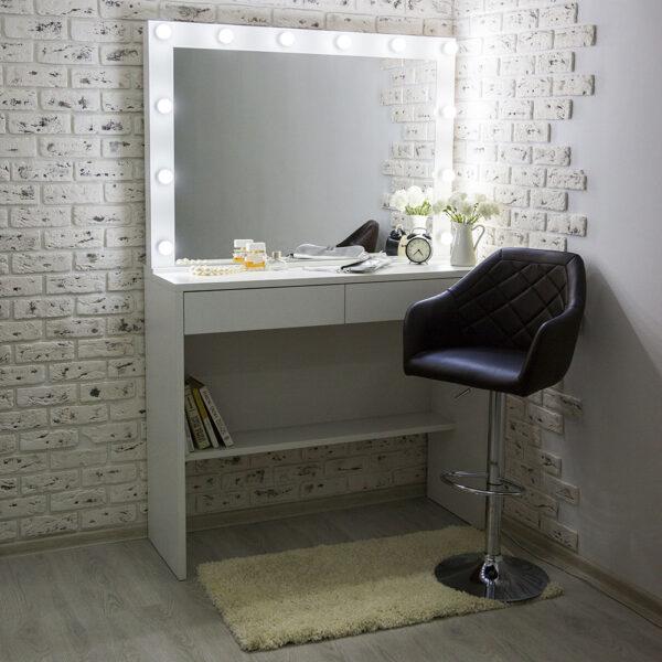 Гримерный стол АСТИ с большим зеркалом_0000_L59A7742
