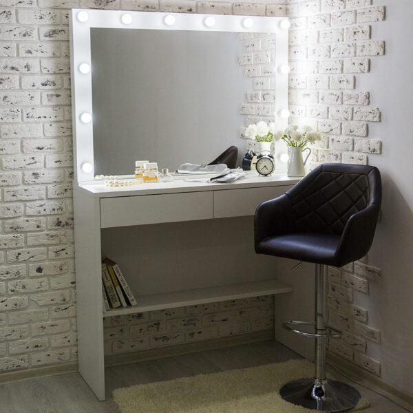 Гримерный стол АСТИ с большим зеркалом_0005_L59A7736