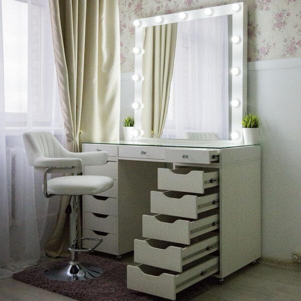 Гримерный стол БАРИ со стеклянной столешницей_0000_L59A7752