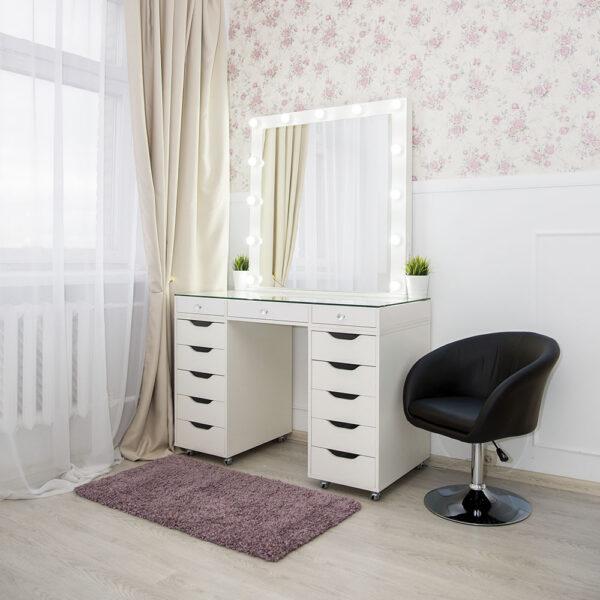 Гримерный стол БАРИ со стеклянной столешницей_0020_L59A7719