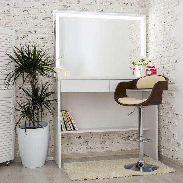 Гримерный столик AVALON с зеркалом_0000_L59A7690