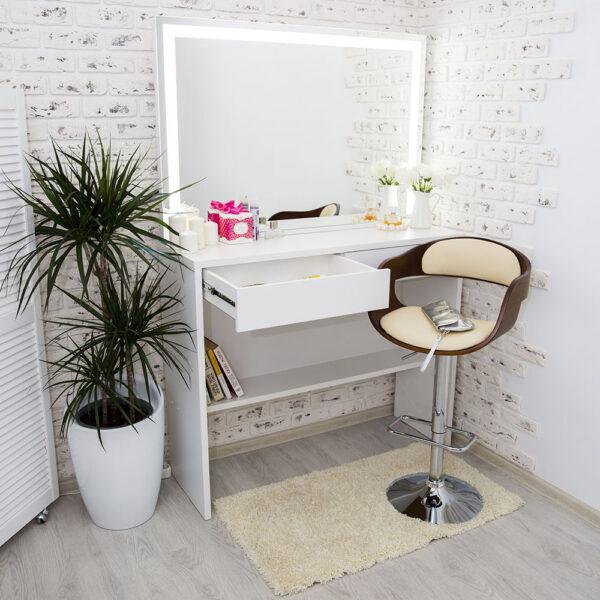 Гримерный столик AVALON с зеркалом_0004_L59A7681