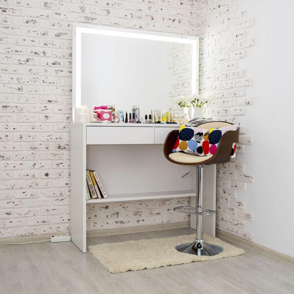 Гримерный столик AVALON с зеркалом_0006_L59A7674