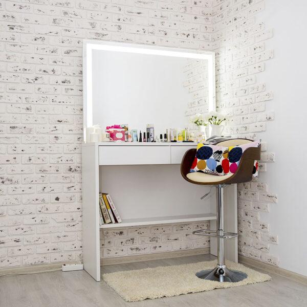 Гримерный столик AVALON с зеркалом_0007_L59A7673