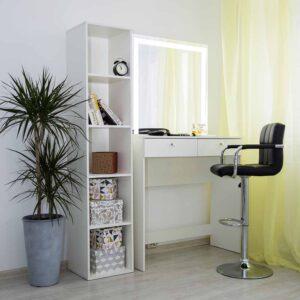 Гримерный столик с зеркалом LED _0008_L59A6918