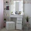 Гримерный столик с зеркалом МАРТА_0001_L59A1752
