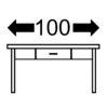 Размеры меню 100