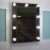 ГАВАНА 60x80 Черное навесное зеркало