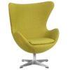 Барное кресло EGG GREEN (2)